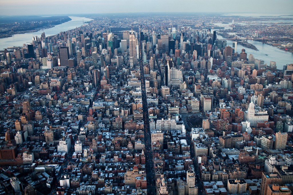 Mandatory Inclusionary Housing - NYC aerial