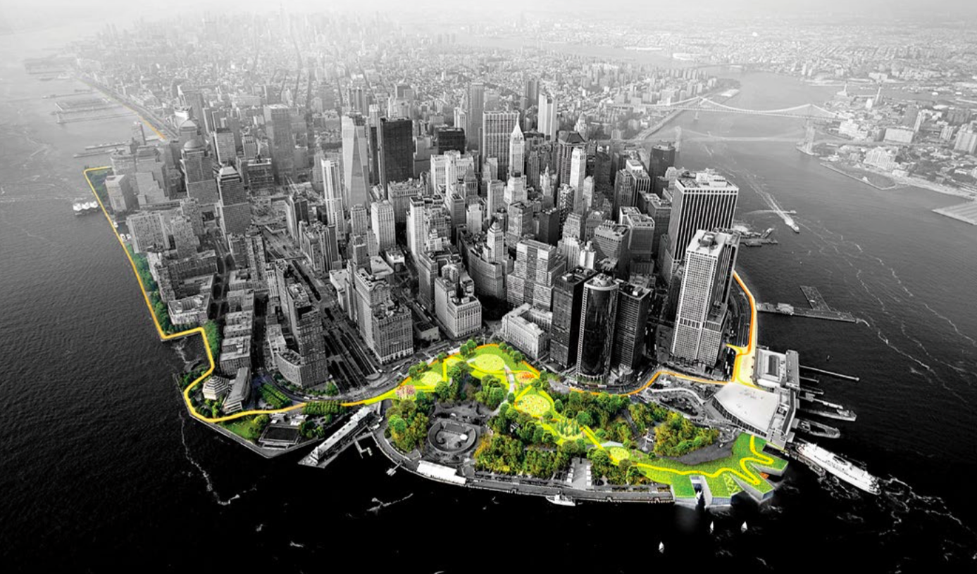 <b> The BIG U and East Side Coastal Resiliency</b> <br/>  Resiliency + social infrastructure.